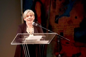 Photo of Karen Armstrong by Seamus Rainheart