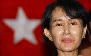 Aung San Suu Kyi by Prachatai