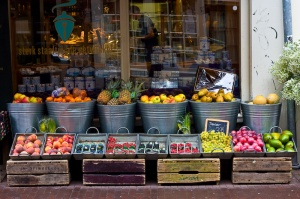 Fruit store by Jarod Carruthers